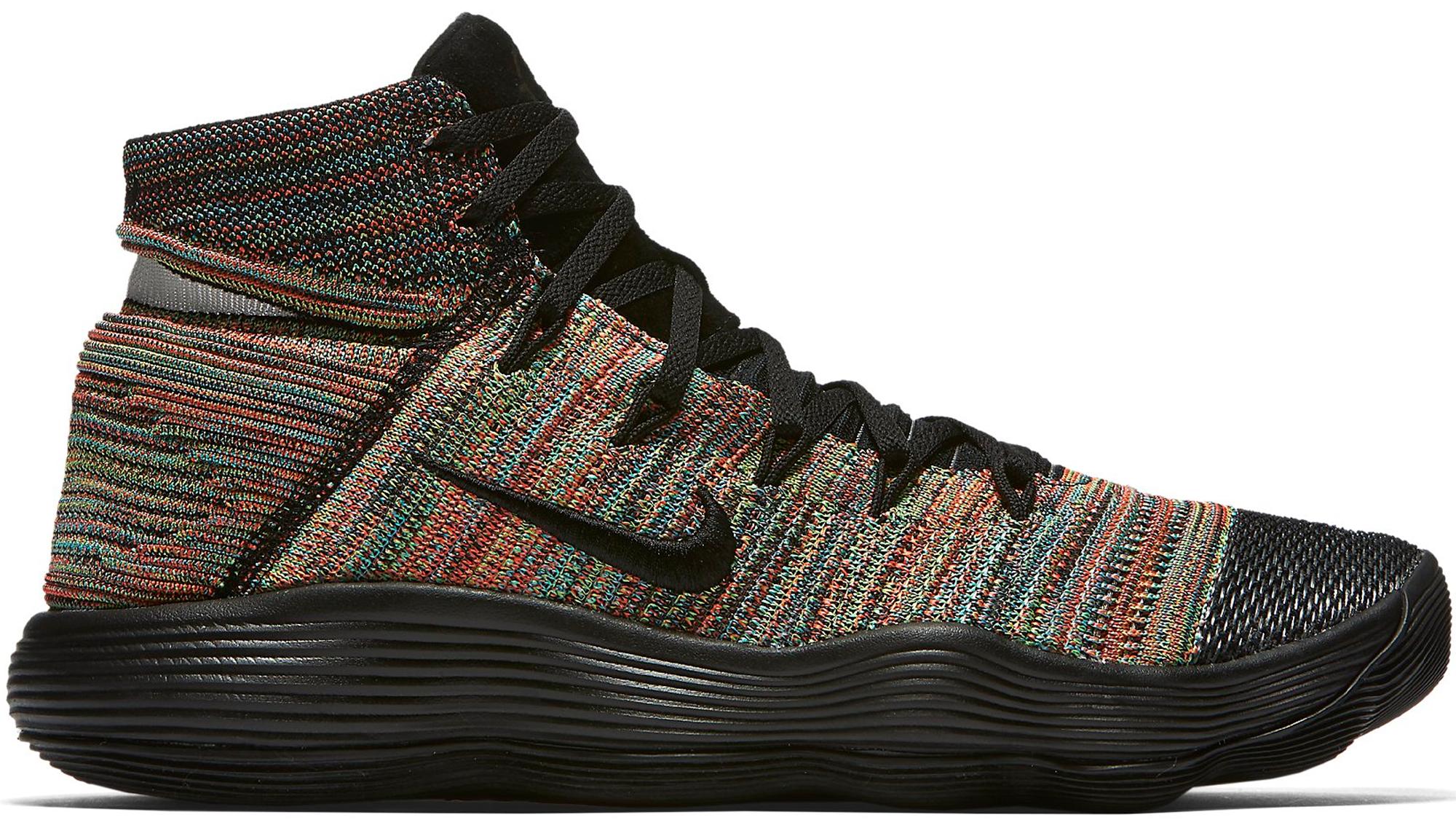 Nike React Hyperdunk 2017 Flyknit Multi-Color