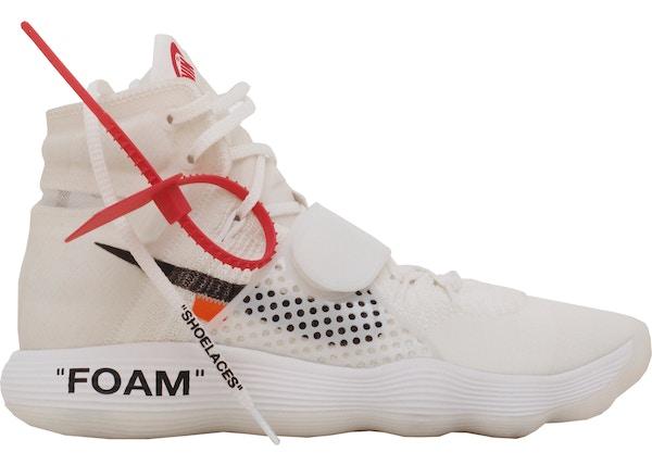 buy online 0ca33 77de6 Nike React Hyperdunk 2017 Flyknit Off-White - AJ4578-100