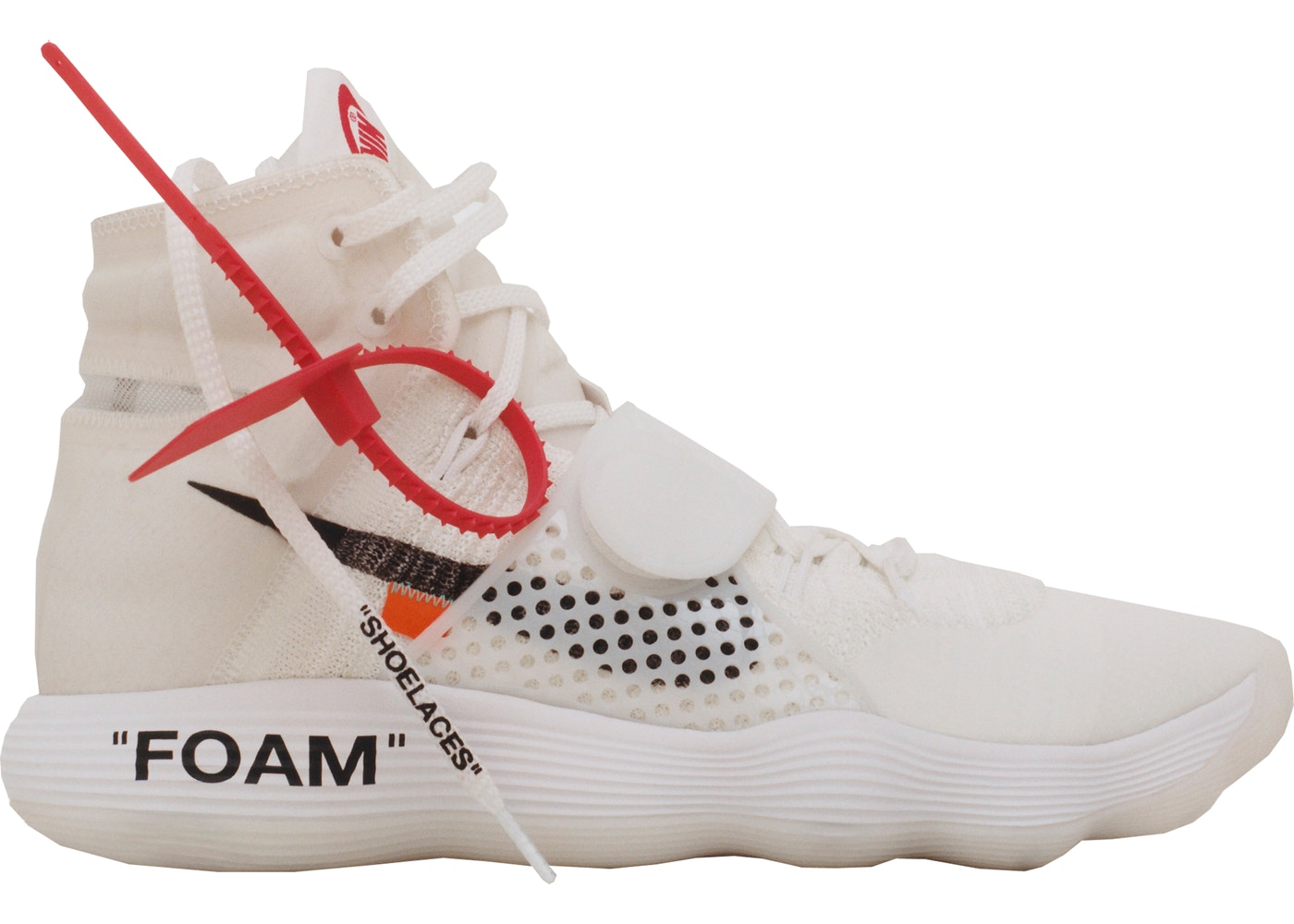 2f77e00d5 Sell. or Ask. Size  8.5. View All Bids. Nike React Hyperdunk 2017 Flyknit  Off-White