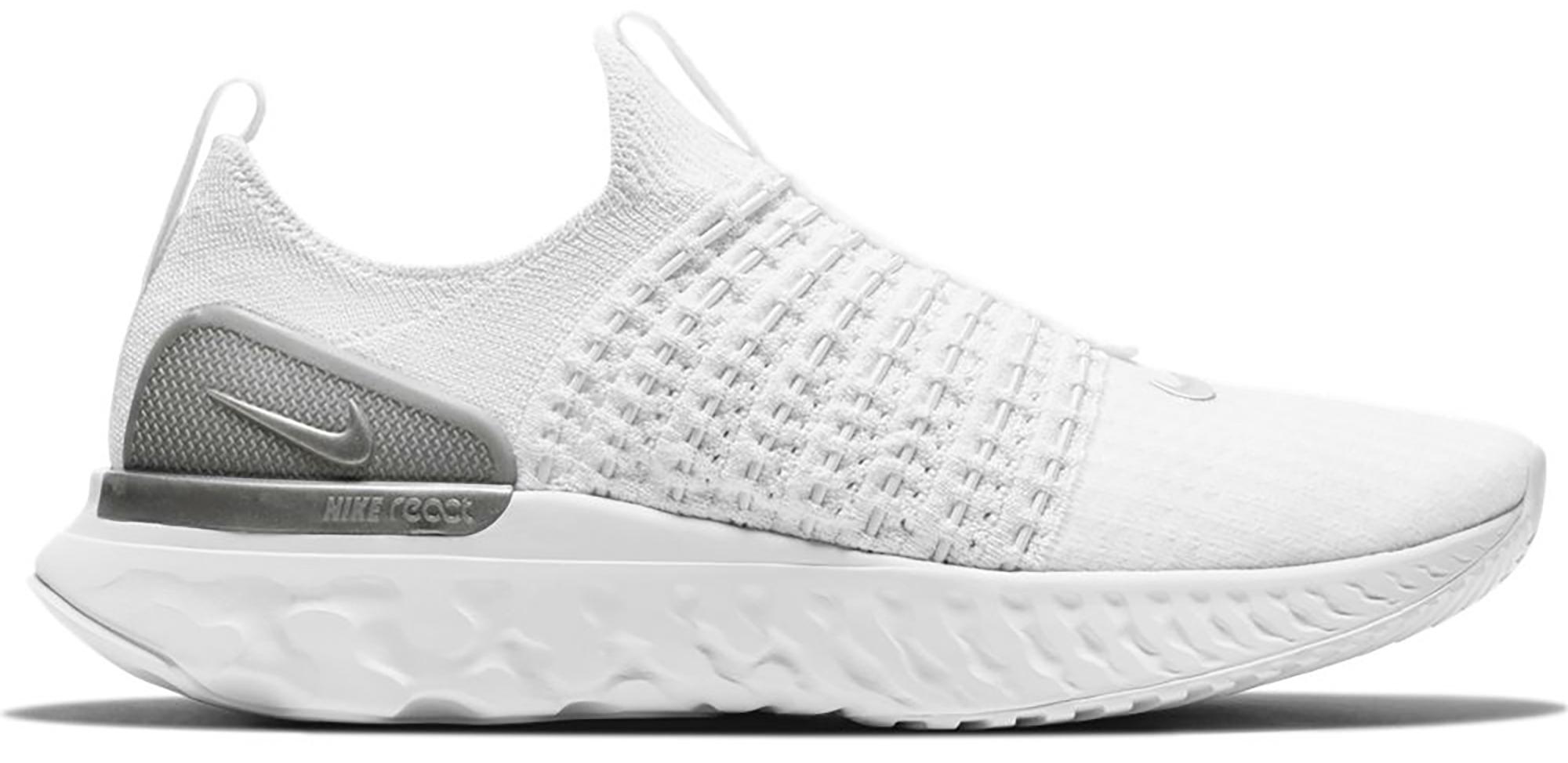 Nike React Phantom Run Flyknit 2 White