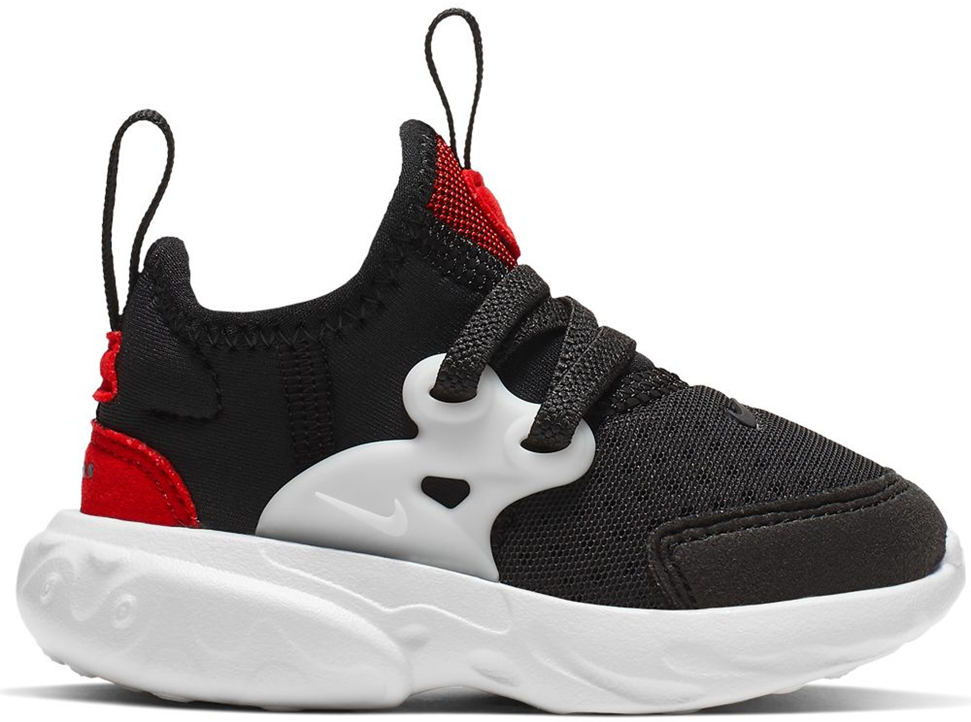 Nike React Presto Black Phantom Red (TD)