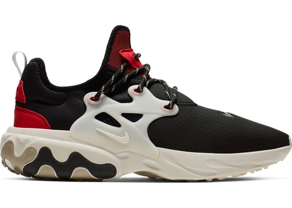 7835fec6831 Nike React Presto Black Phantom Red
