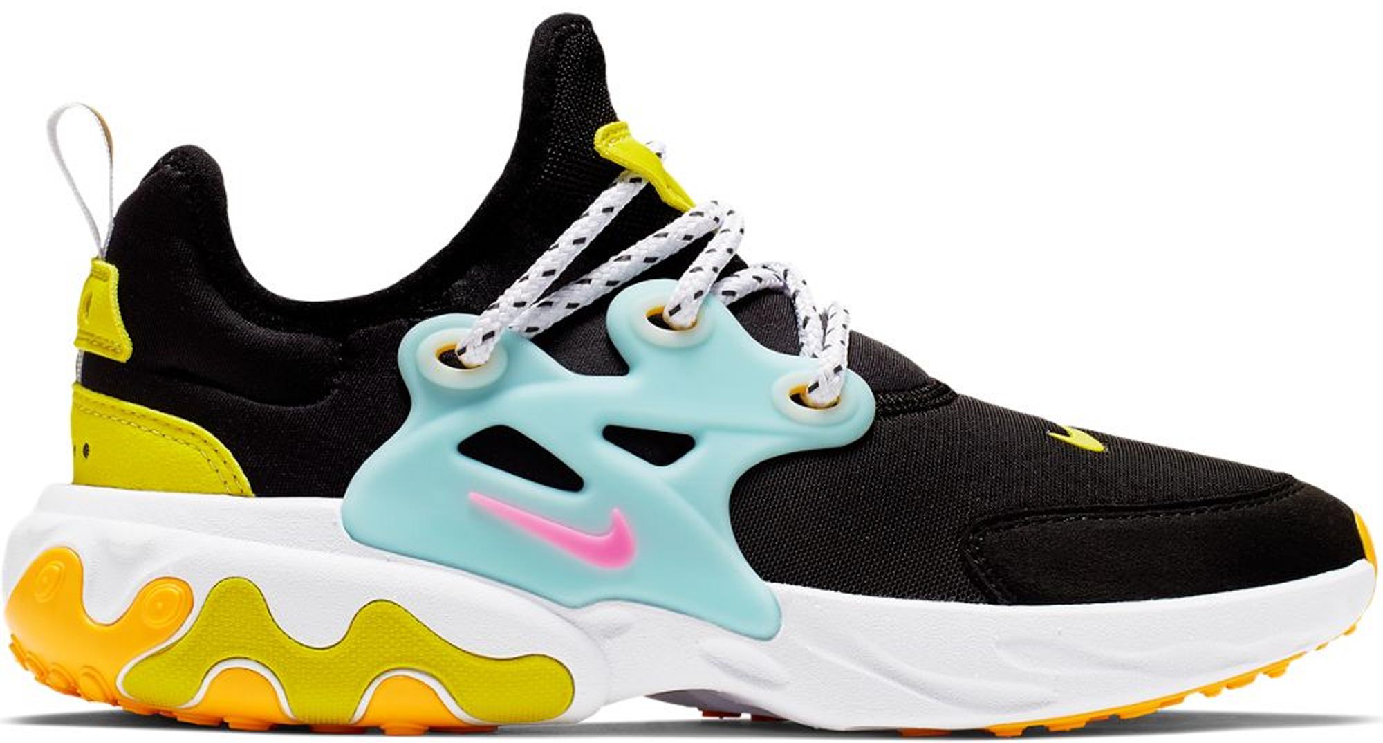 Nike React Presto Black Teal Tint Cyber (GS)