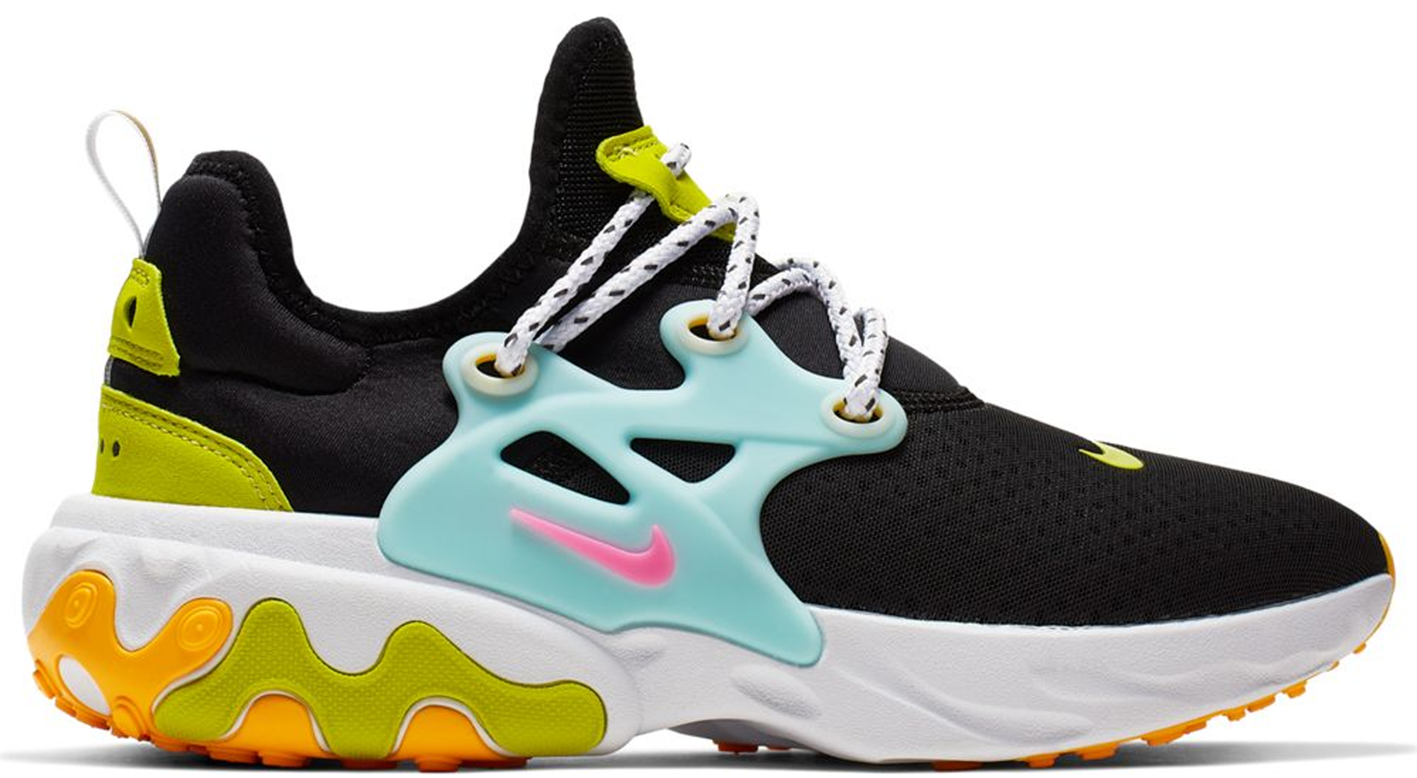 Nike React Presto Black Teal Tint Cyber (W)