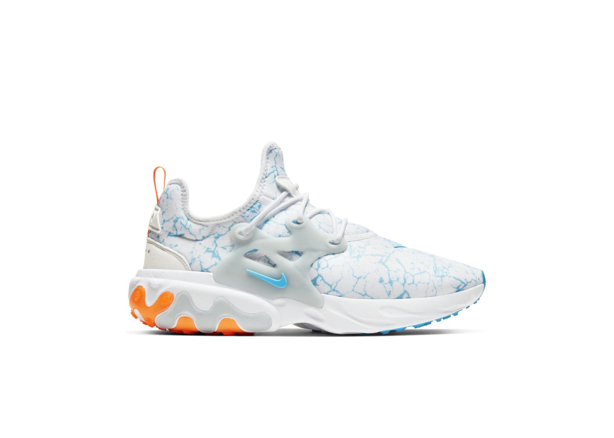 Nike React Presto Premium White Blue