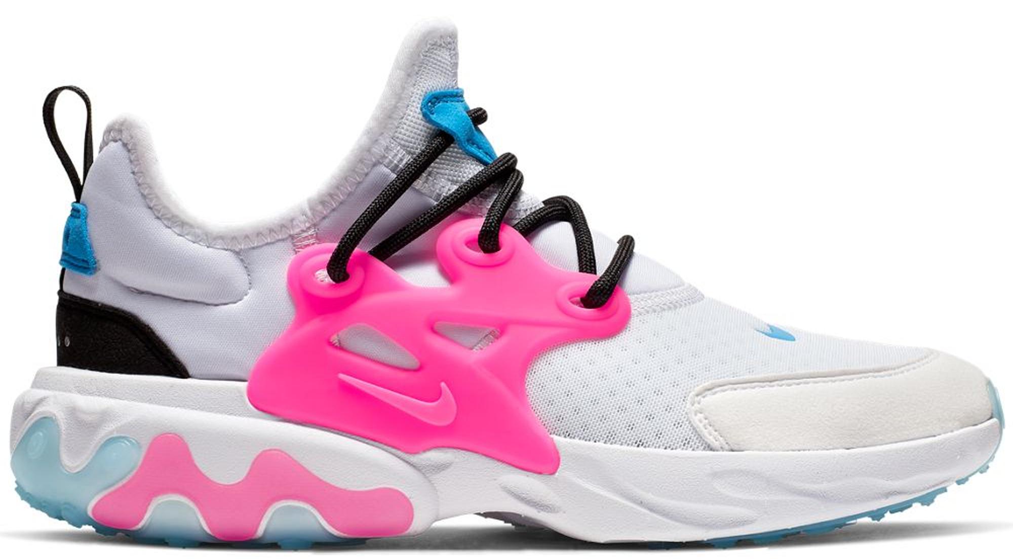 Nike React Presto White Hyper Pink