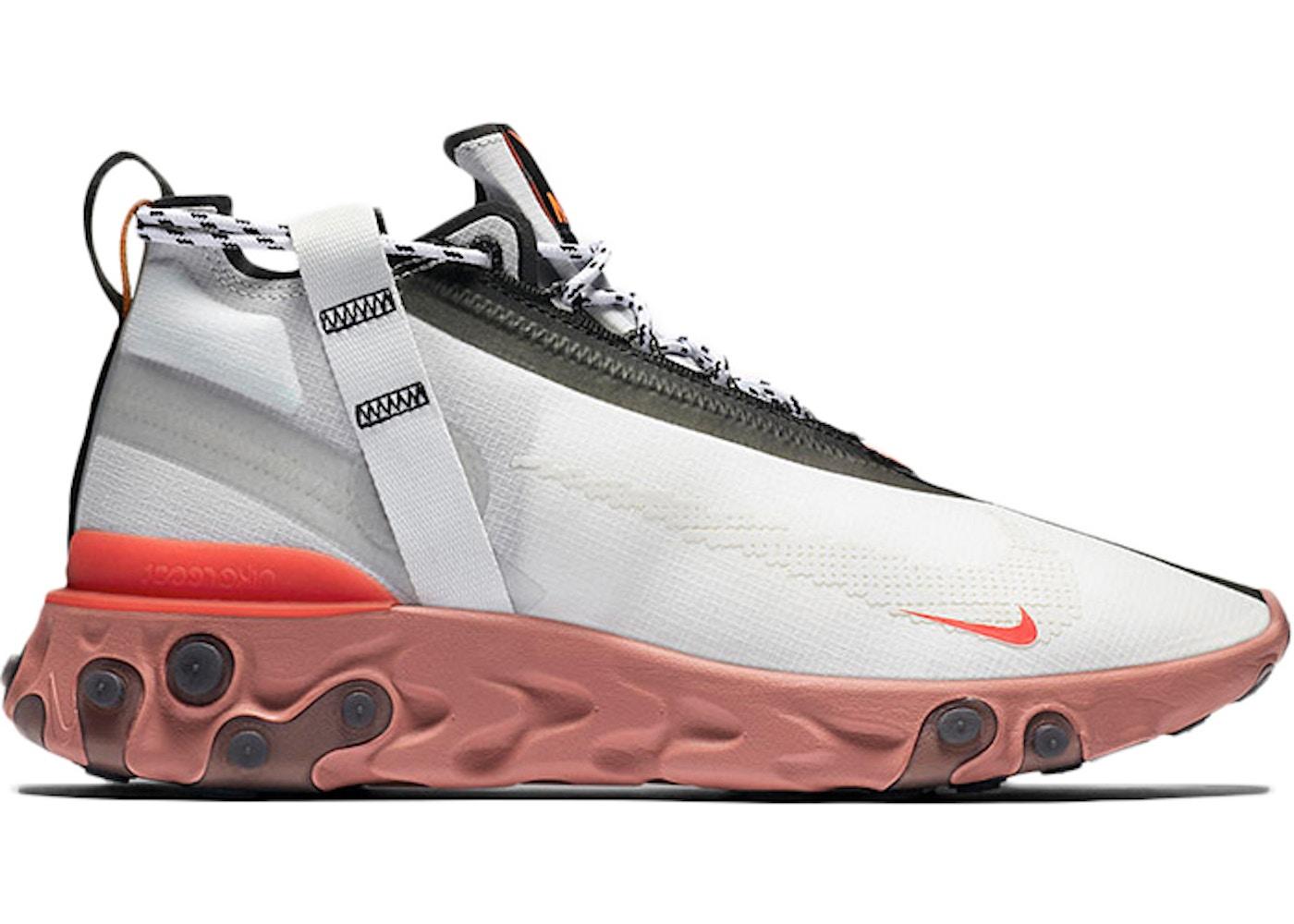 ceda0c46eb6 Nike React Runner Mid WR ISPA White Light Crimson - AT3143-100