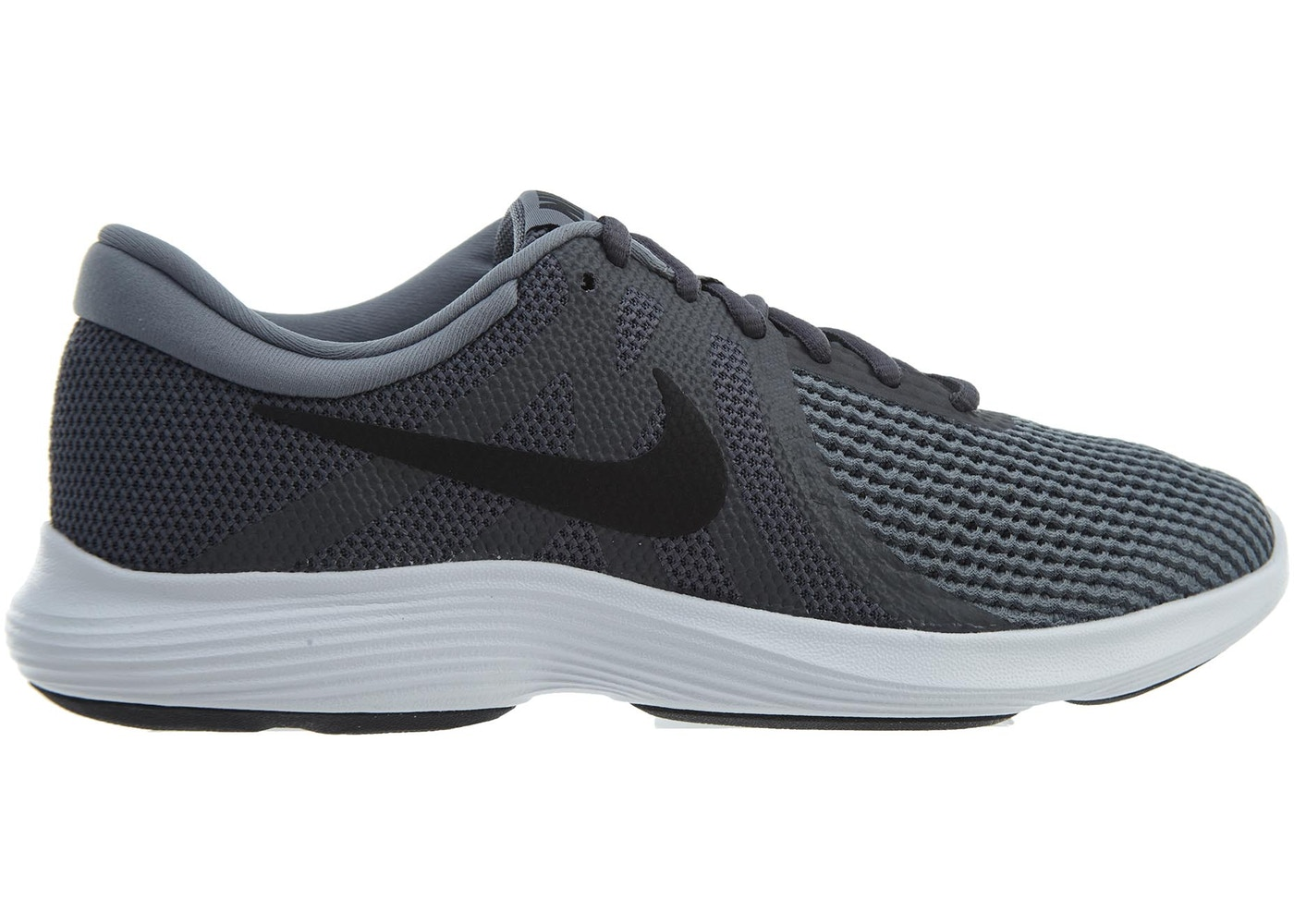 9521b7c78fe1d Nike Revolution 4 Dark Grey Black-Cool Grey - 908988-010