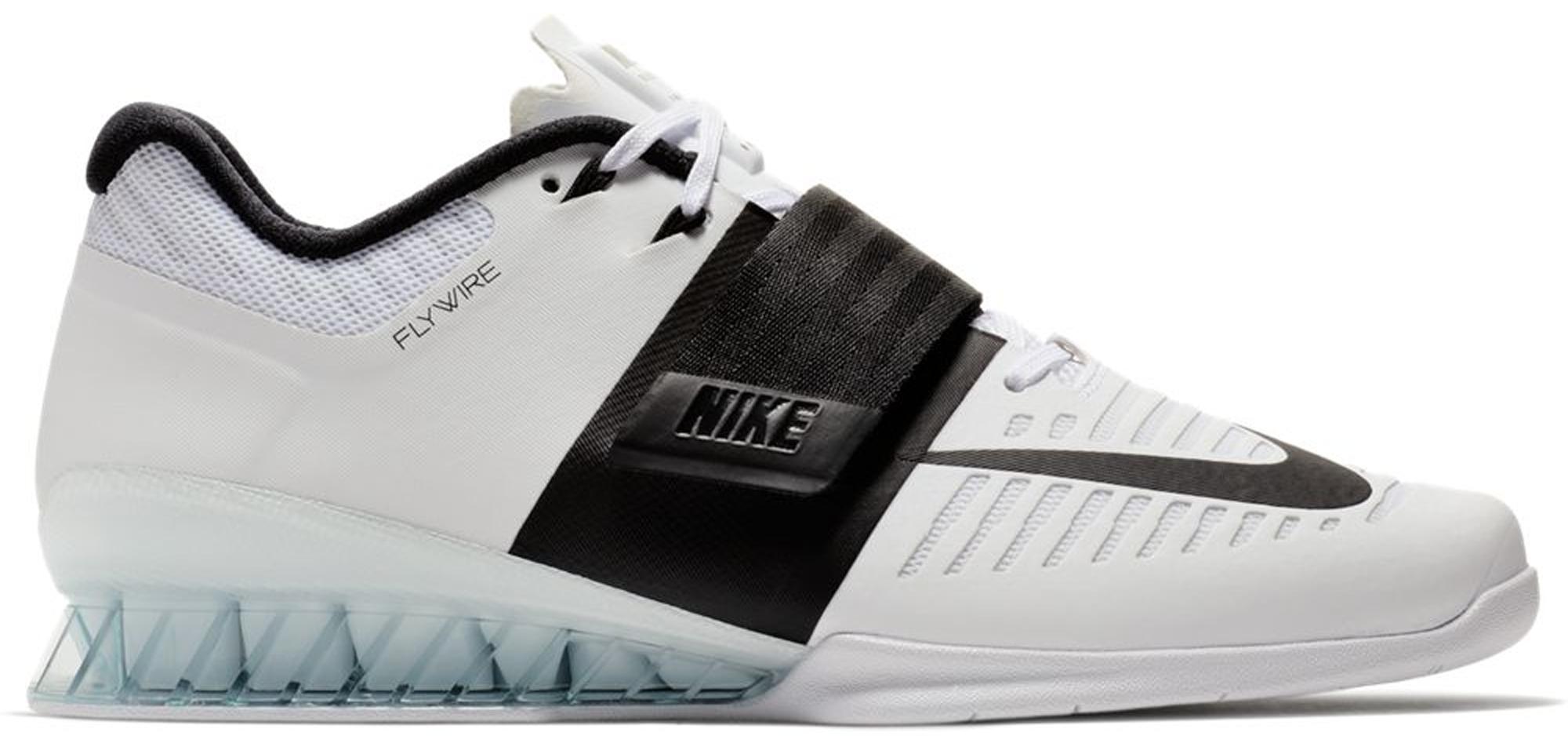 Nike Romaleos 3 White Black Clear Sole