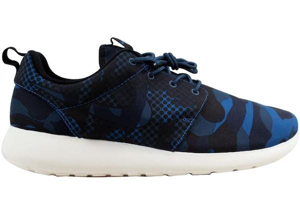 e36489b4c3a Nike Roshe One Print Brigade Blue - 655206-404