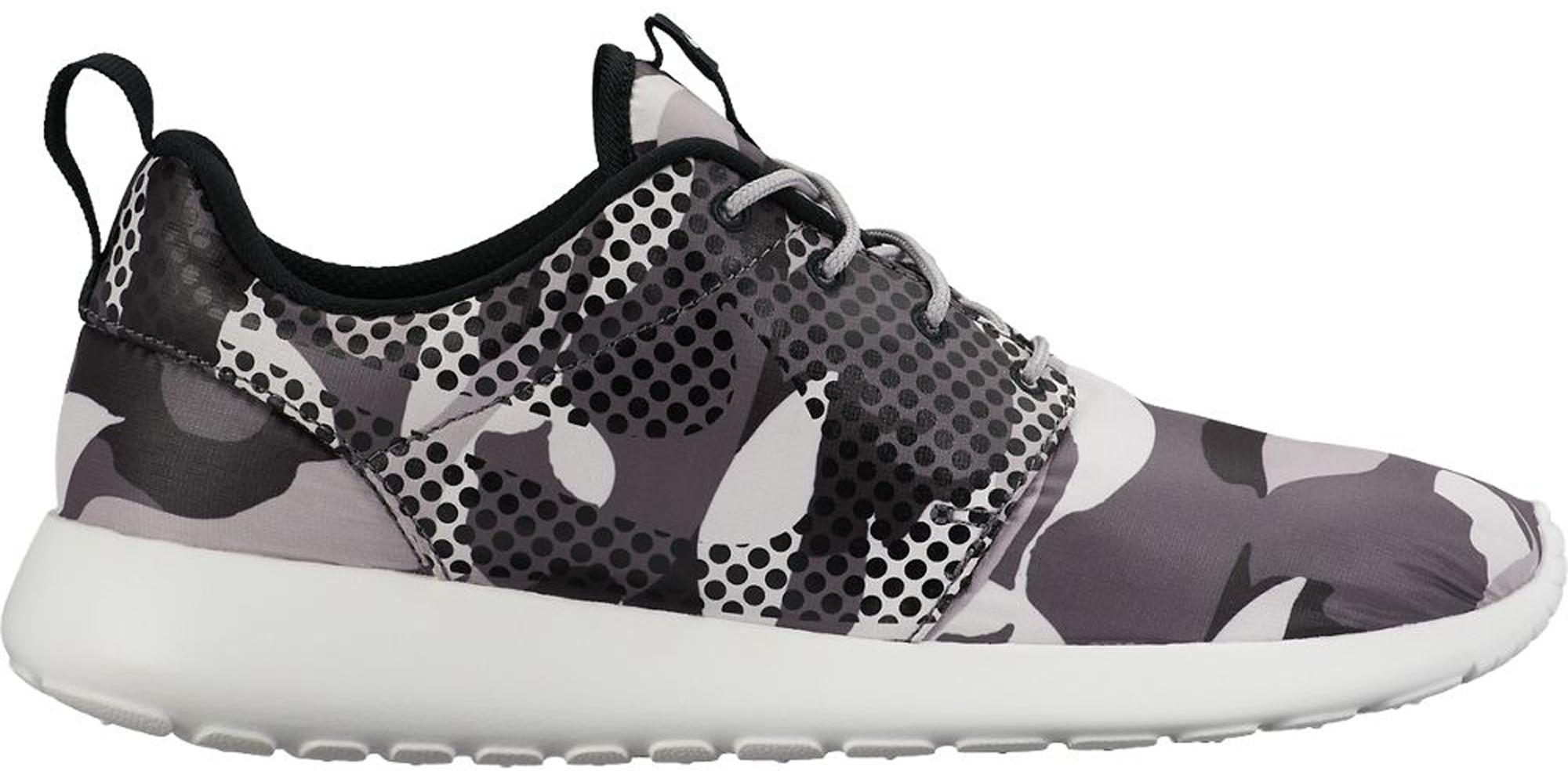 Nike Roshe One Print Camo White Black