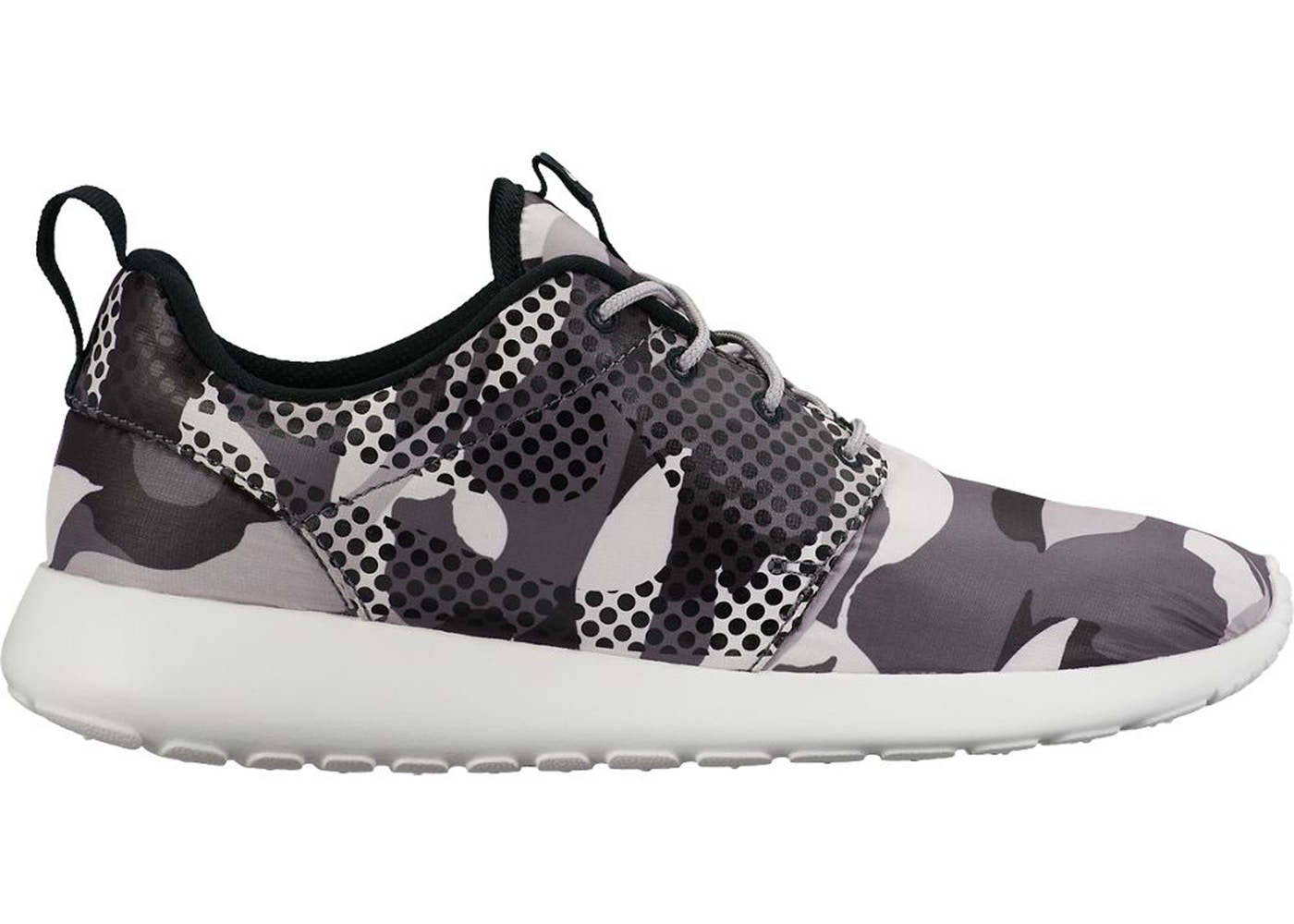 pretty nice 84f16 f665e Nike Roshe One Print Camo White Black - 655206-100
