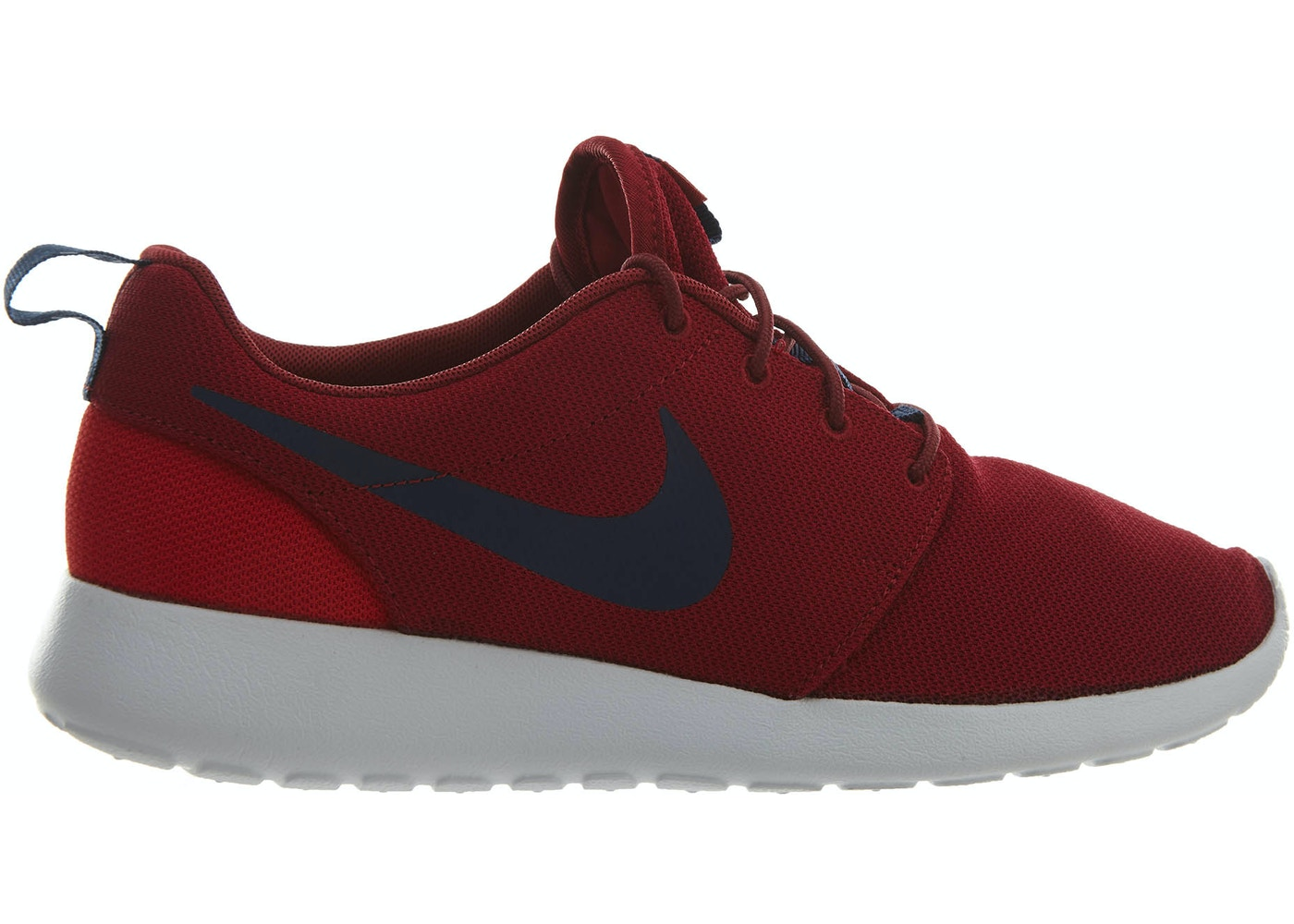 best service db042 6aadf Nike Roshe One Red Crush Midnight Navy