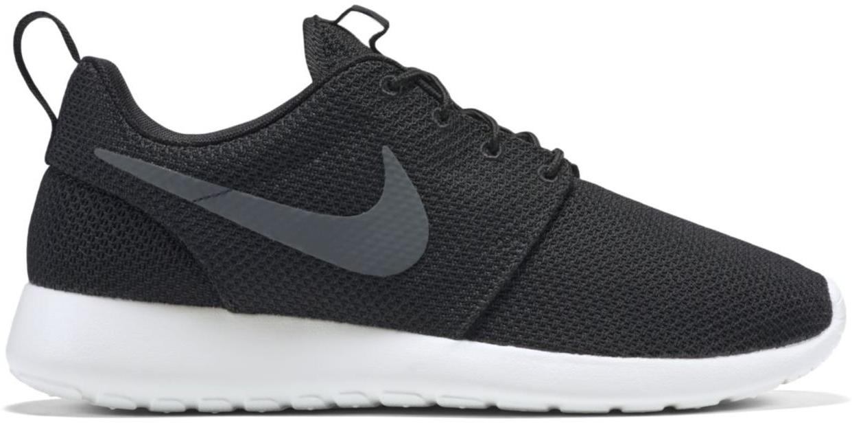 nike roshe black and gray