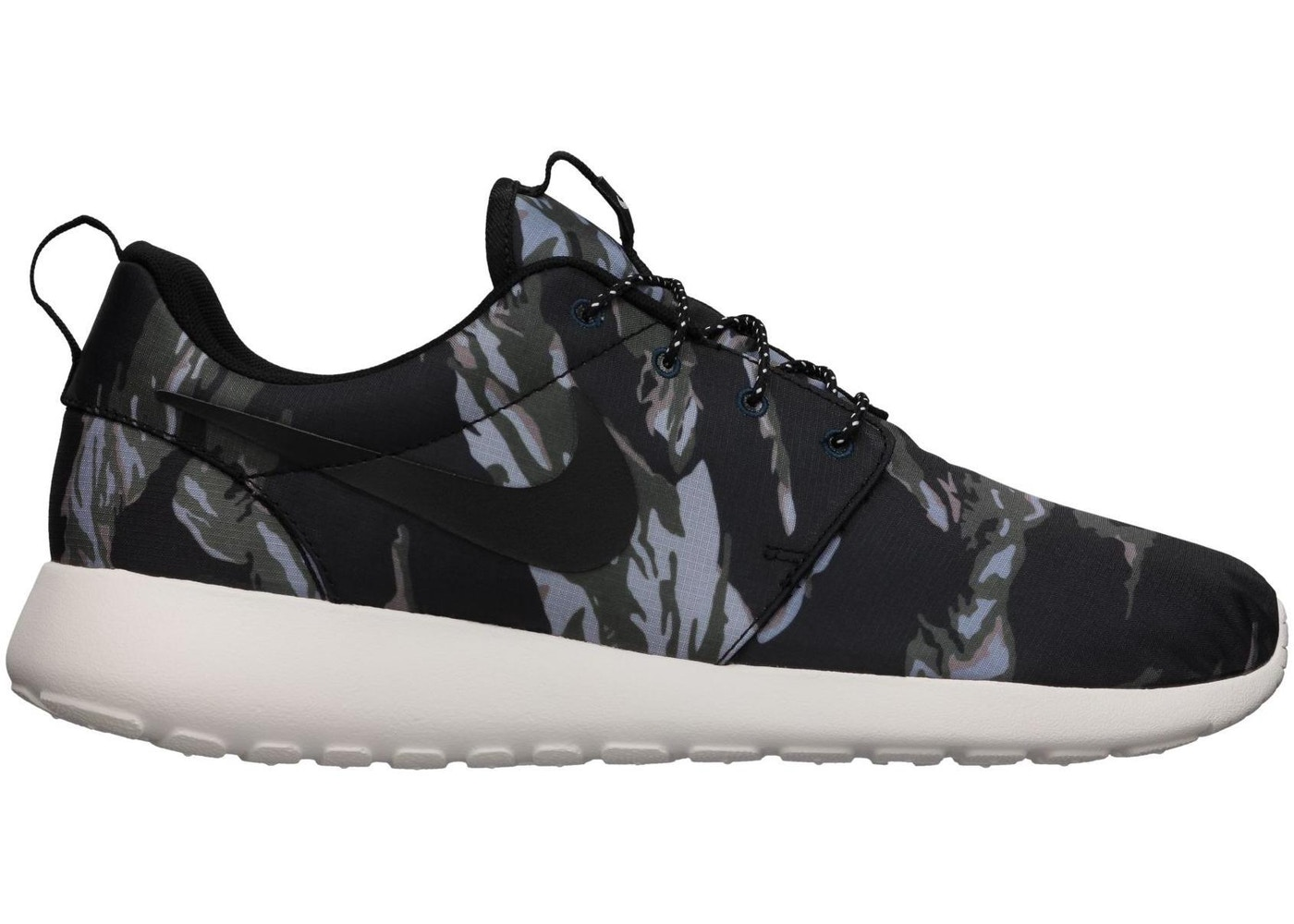 963e614671 Nike Roshe Run Black Tiger Camo - 555445-001