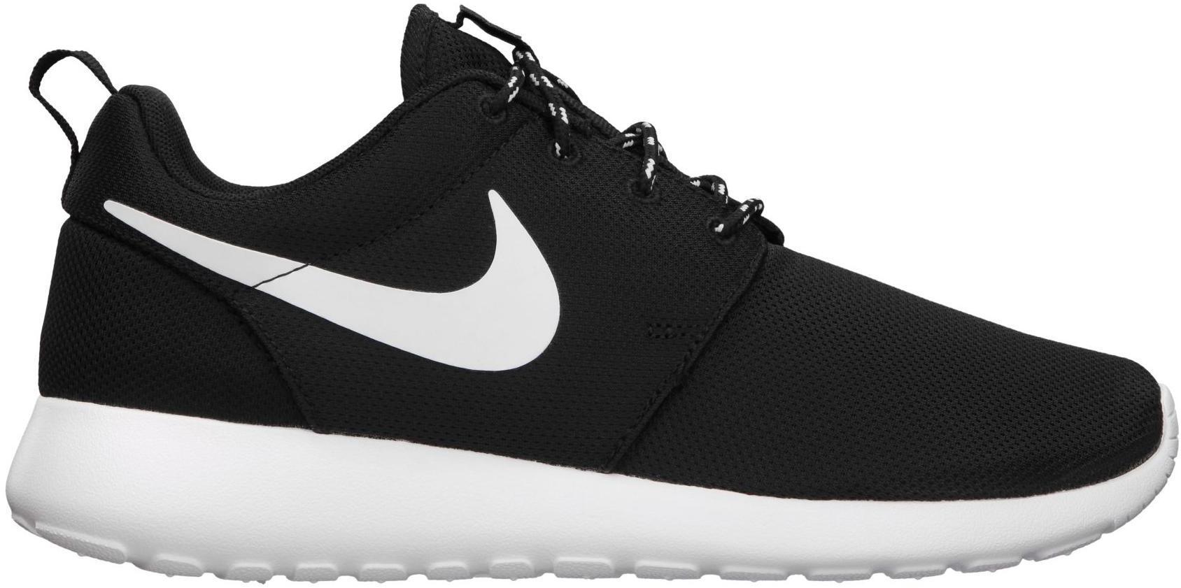 Nike Roshe Run Black White (GS