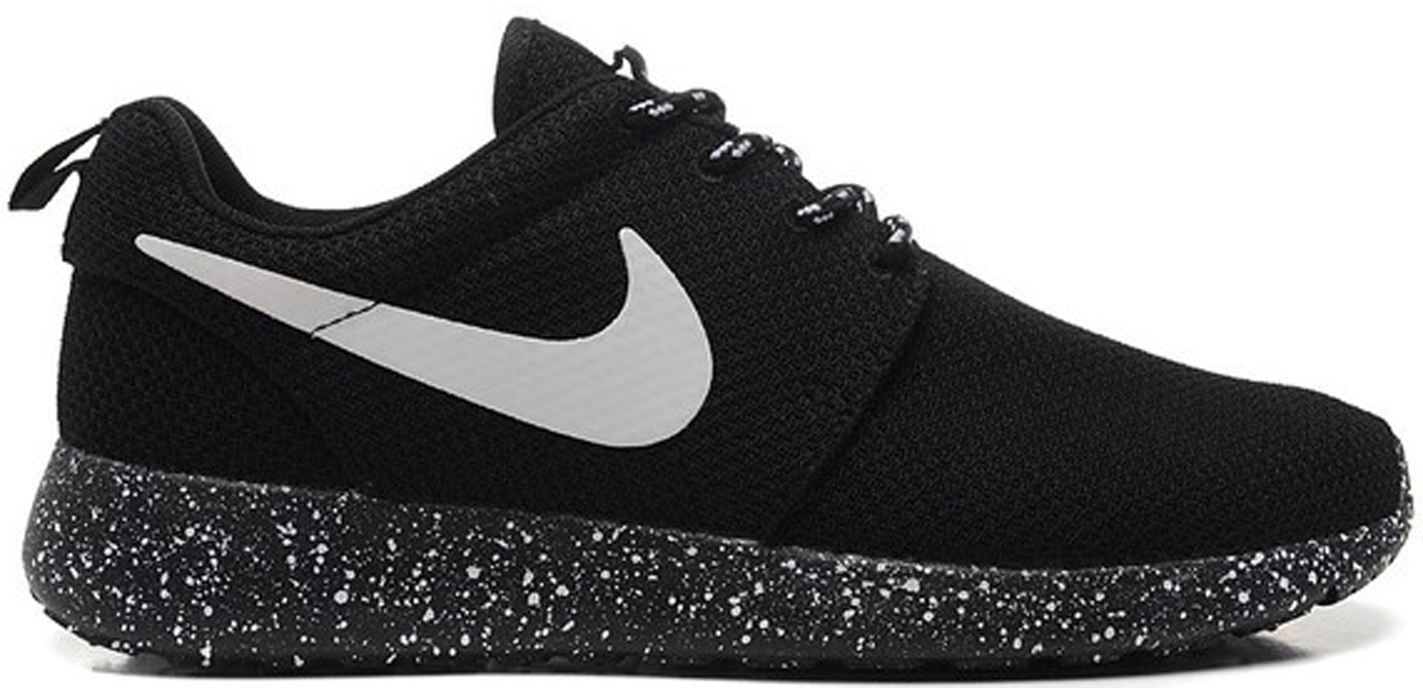 fe3c9174a771 ... coupon for nike roshe run black white speckled sole f7490 07496 ...