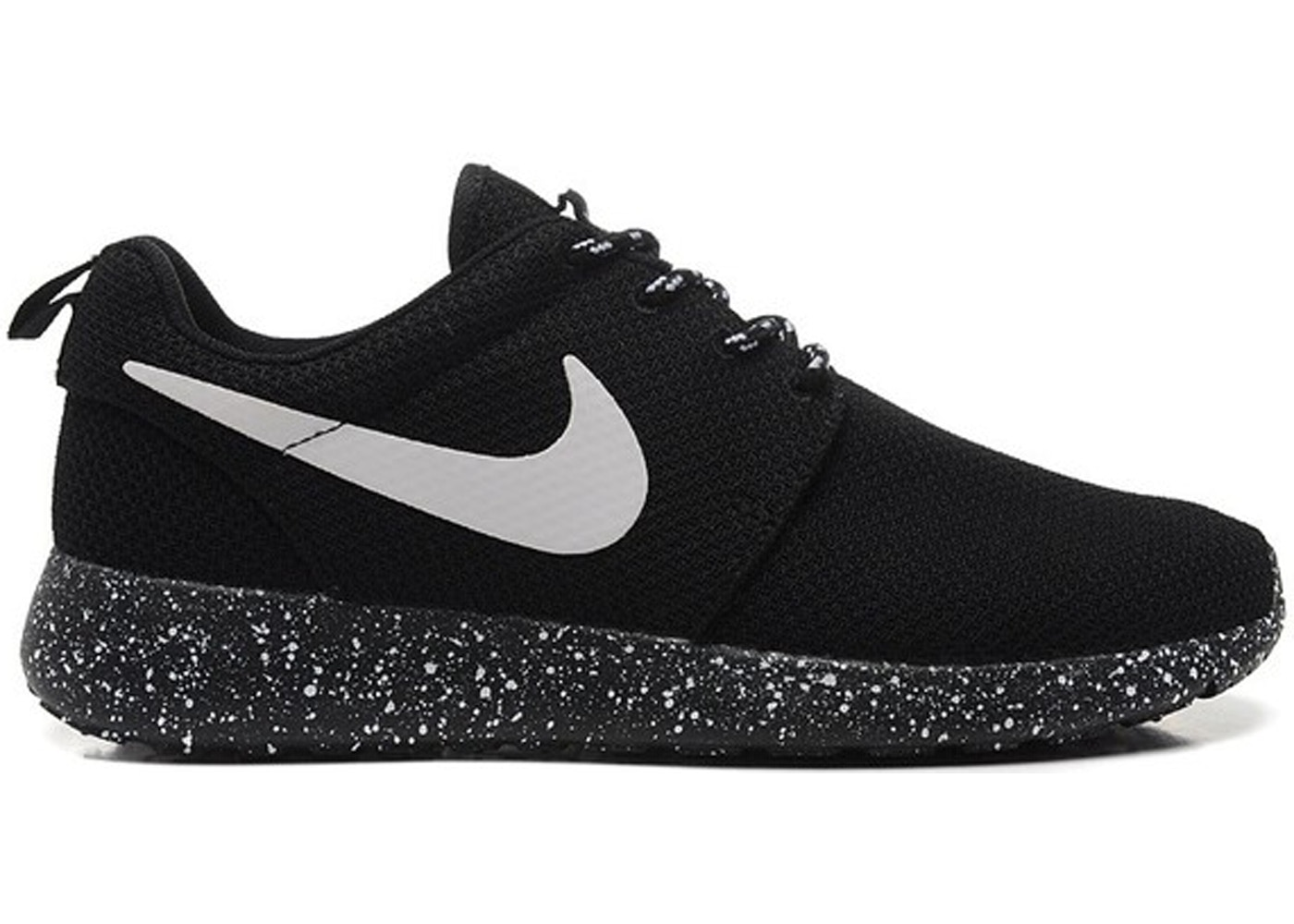 a174584591ae Nike Roshe Run Black White (Speckled Sole) - 511882-011