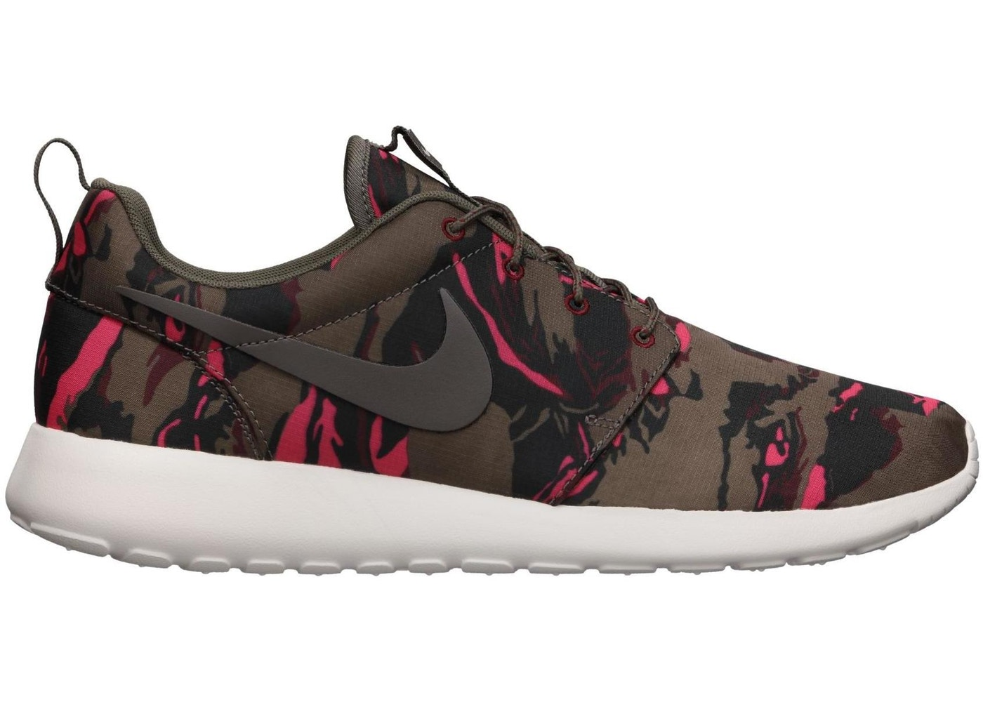 check out af6b3 914ee Nike Roshe Run Brown Tiger Camo