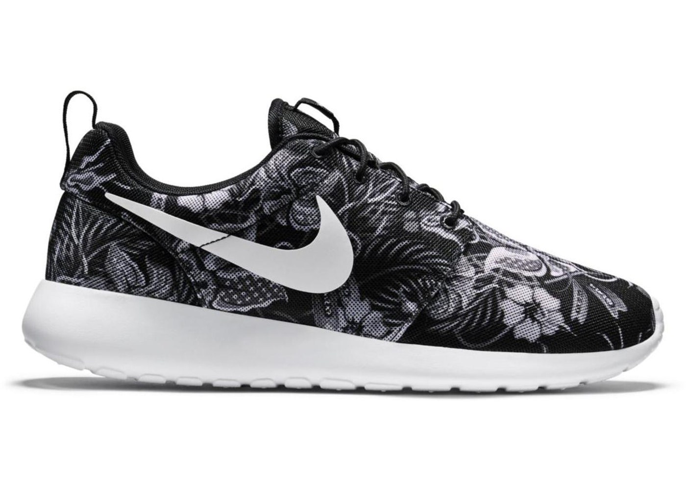 new concept d9266 a023f Nike Roshe Run Floral Print Black - 655206-018