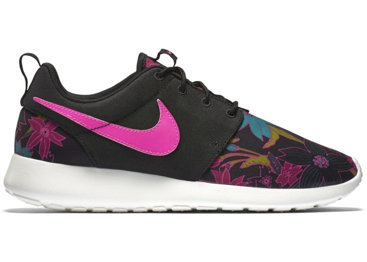 timeless design 04752 1cc3b Sell. or Ask. Size --. View All Bids. Nike Roshe Run Floral Print Pink Foil