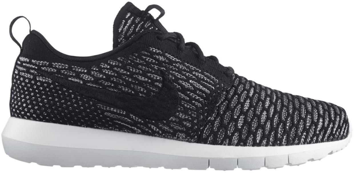 Nike Roshe Run Flyknit Black Sequoia - 677243-003