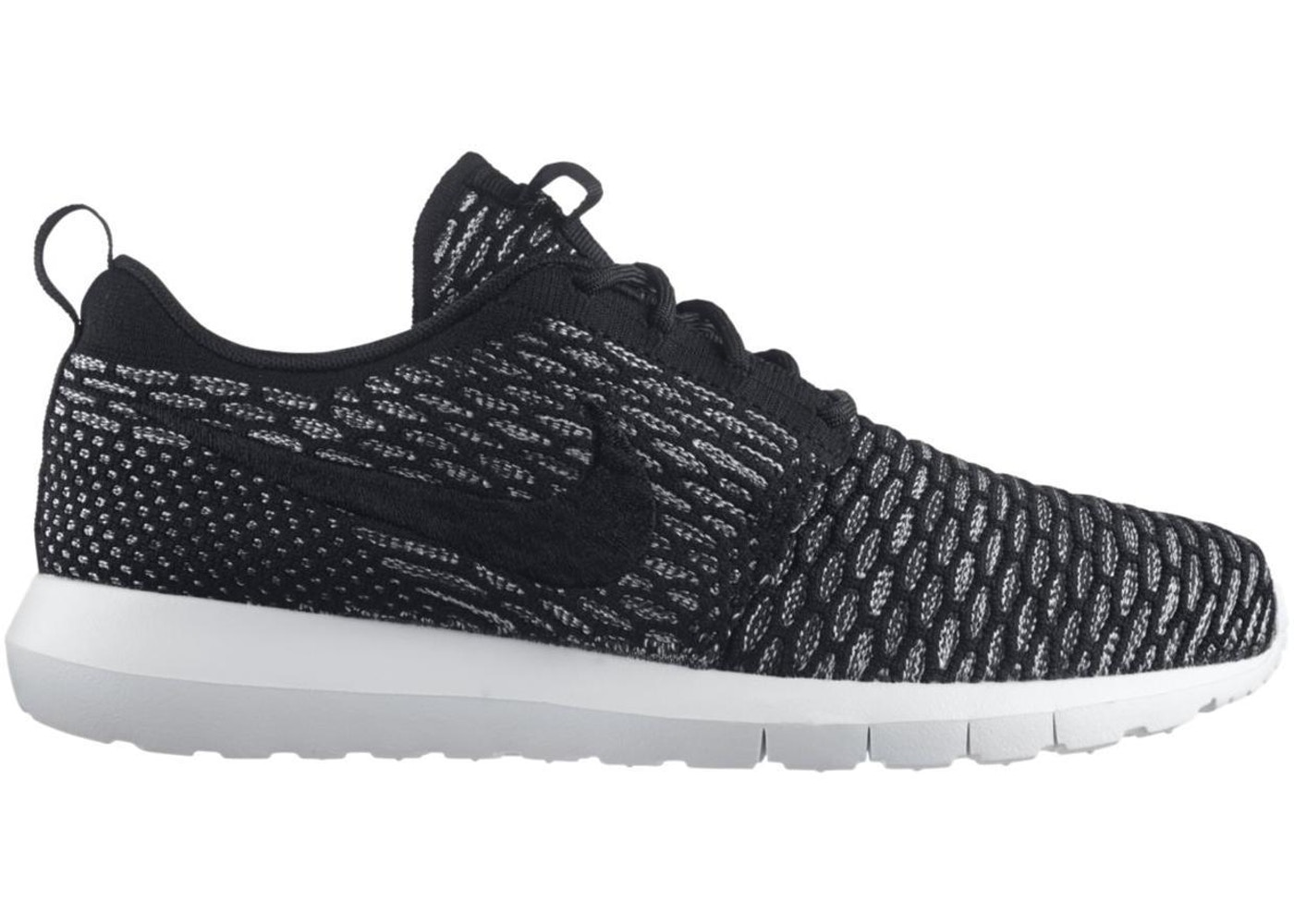 big sale 0fa32 abf66 Nike Roshe Run Flyknit Black Sequoia - 677243-003