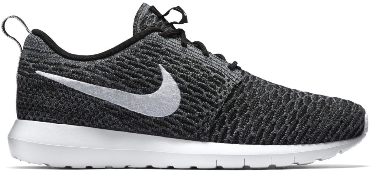 Nike Roshe Run Flyknit Dark Grey