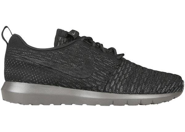 buy online ea930 80bde Nike Roshe Run Flyknit Midnight Fog - 677243-001