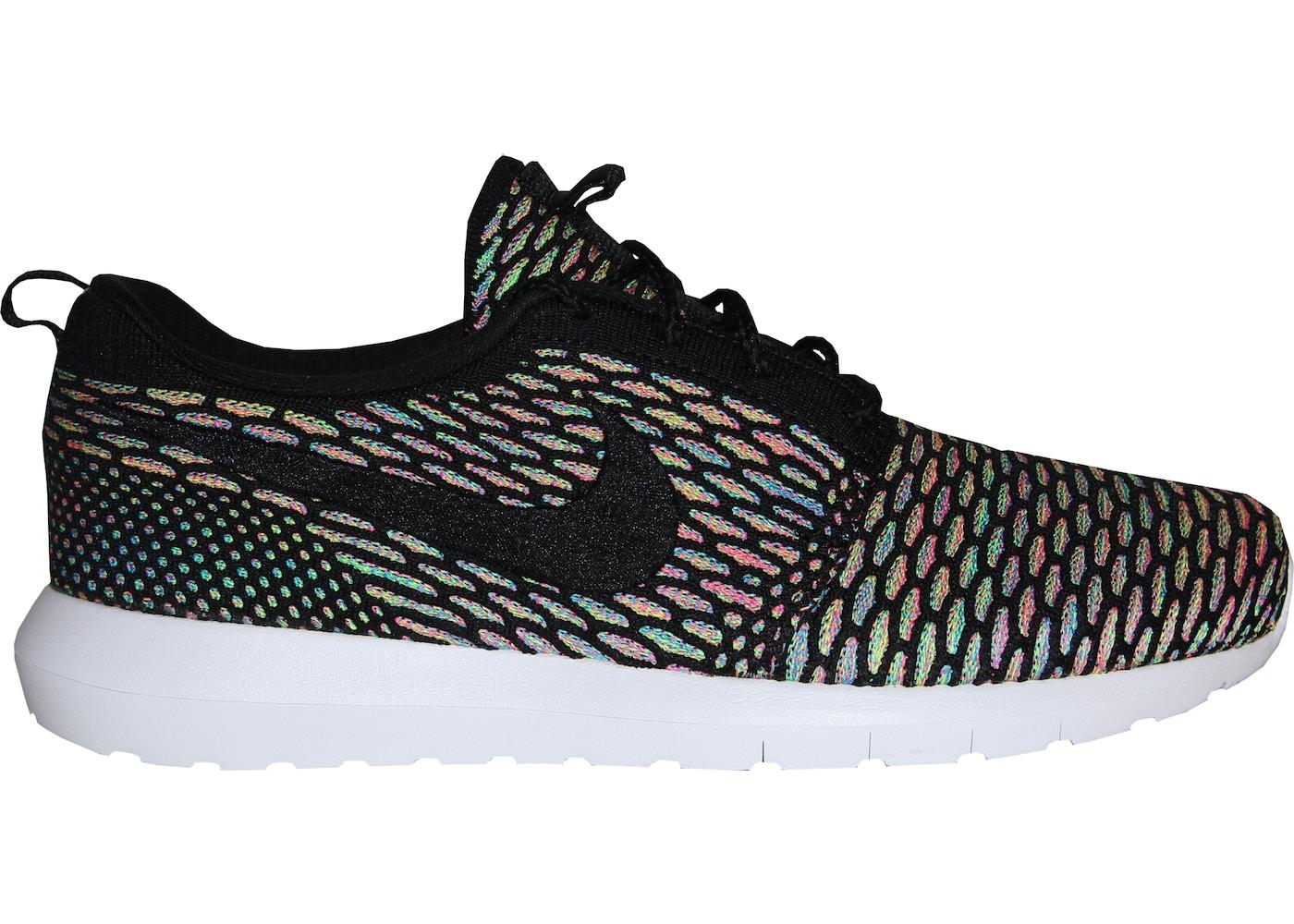 10431d88f789 Nike Roshe Run Flyknit Multi-Color - 677243-013