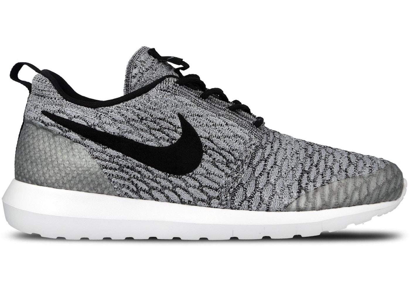 Nike Roshe Run Flyknit NM Wolf Grey - 816531-002