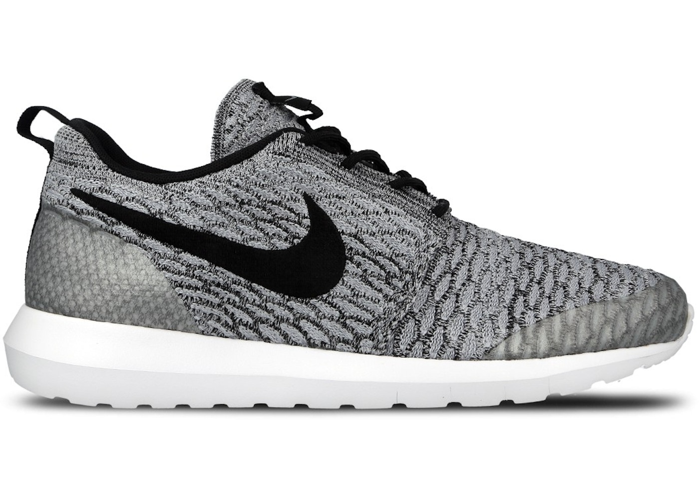 best sneakers 6de79 dd961 Nike Roshe Run Flyknit NM Wolf Grey — HypeAnalyzer