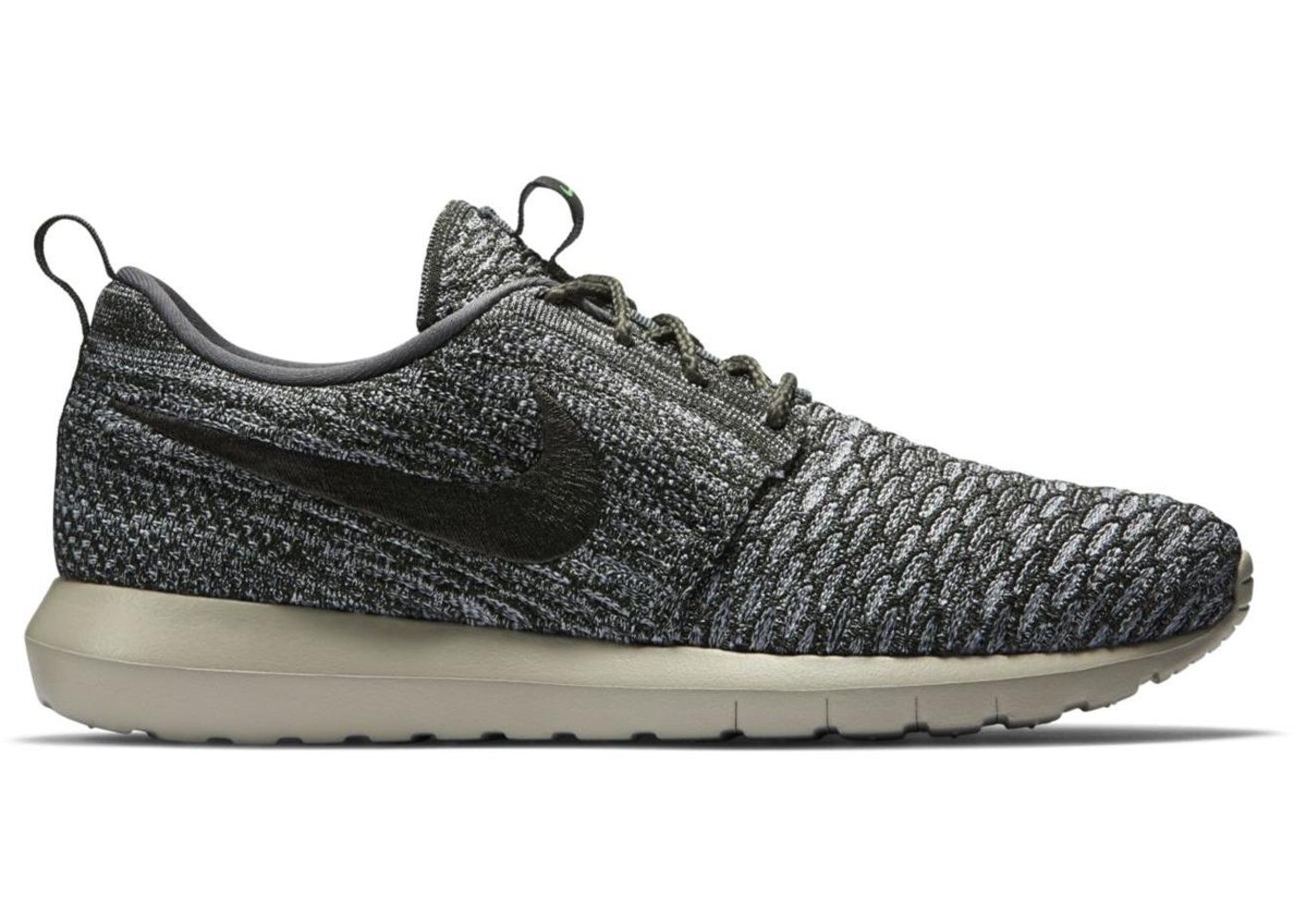competitive price fa929 19e52 Nike Roshe Run Flyknit Wolf Grey