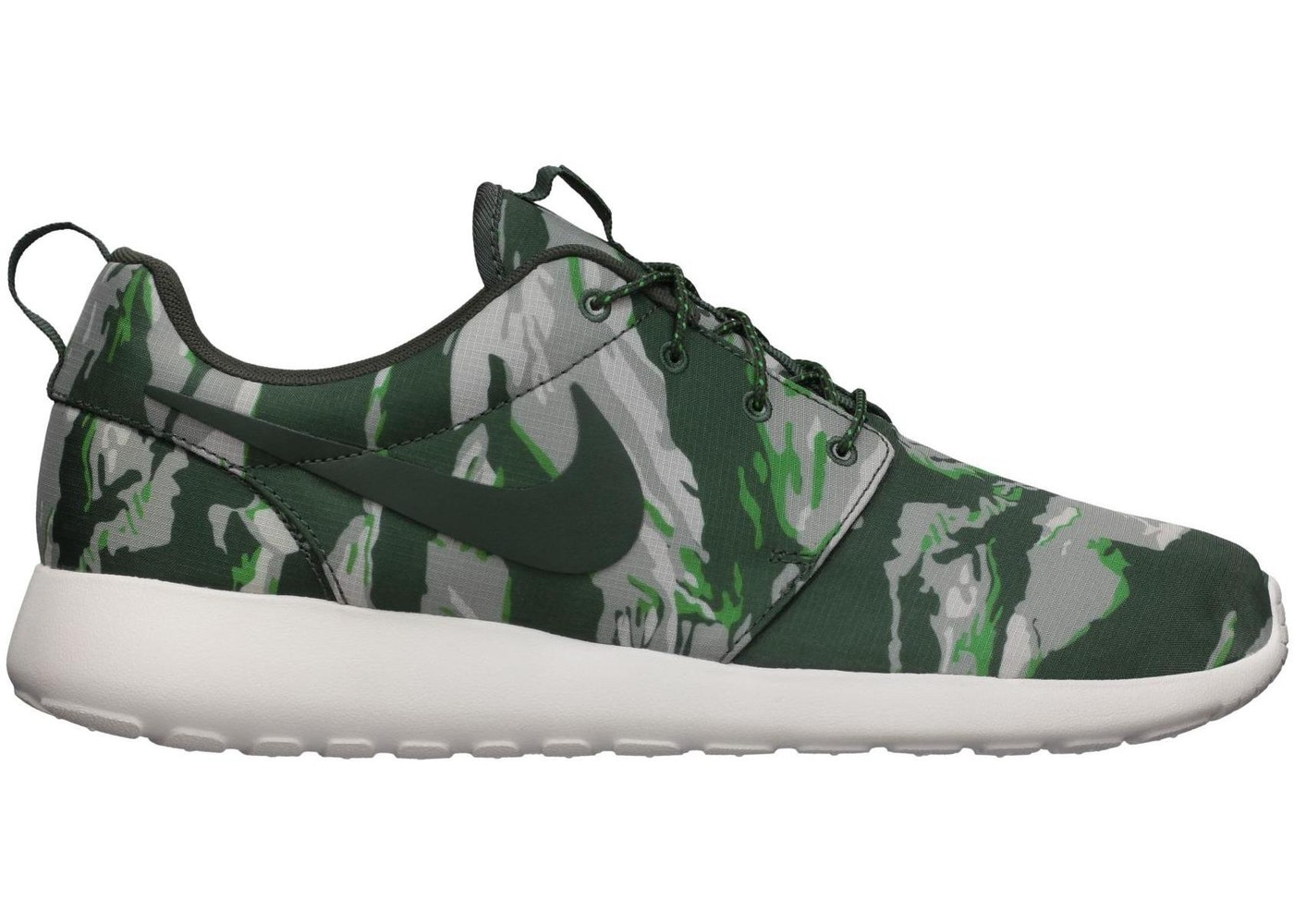 new style 9c7d4 1fa8b Sell. or Ask. Size  9.5. View All Bids. Nike Roshe Run Green Tiger Camo