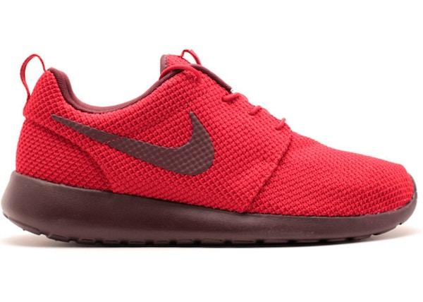 acheter populaire bd116 6b161 Nike Roshe Run Gym Red Burgundy