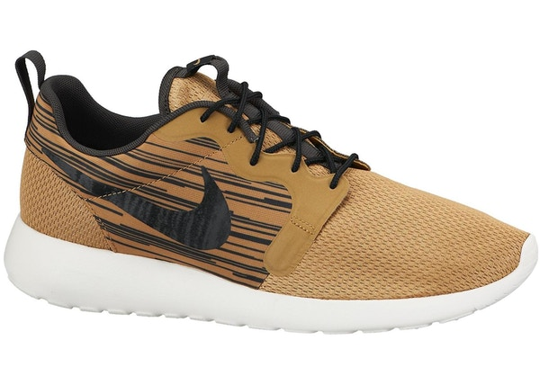 ab3e8497552a2 Nike Roshe Run Hyperfuse Metallic Gold - 636220-701