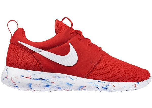 hot sale online 5f47b 3a417 Nike Roshe Run Marble Pack Red - 669985-600