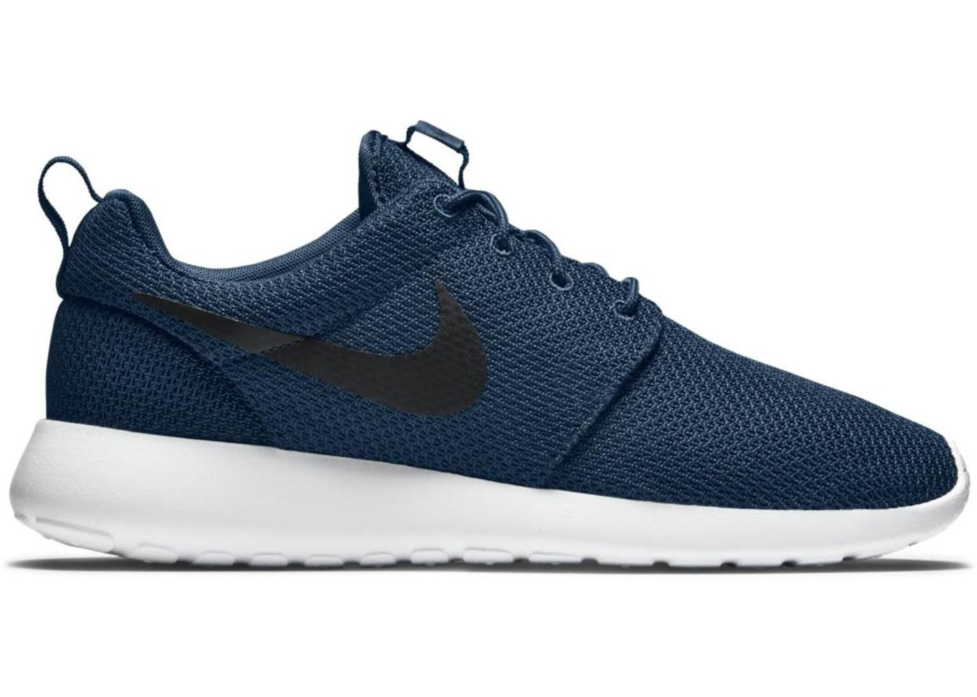 timeless design e027c 72e53 Nike Roshe Run Navy Black White