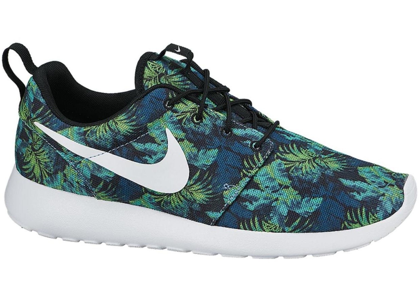 sale retailer 683ad 0f605 Nike Roshe Run Poison Green Palm Trees - 655206-413