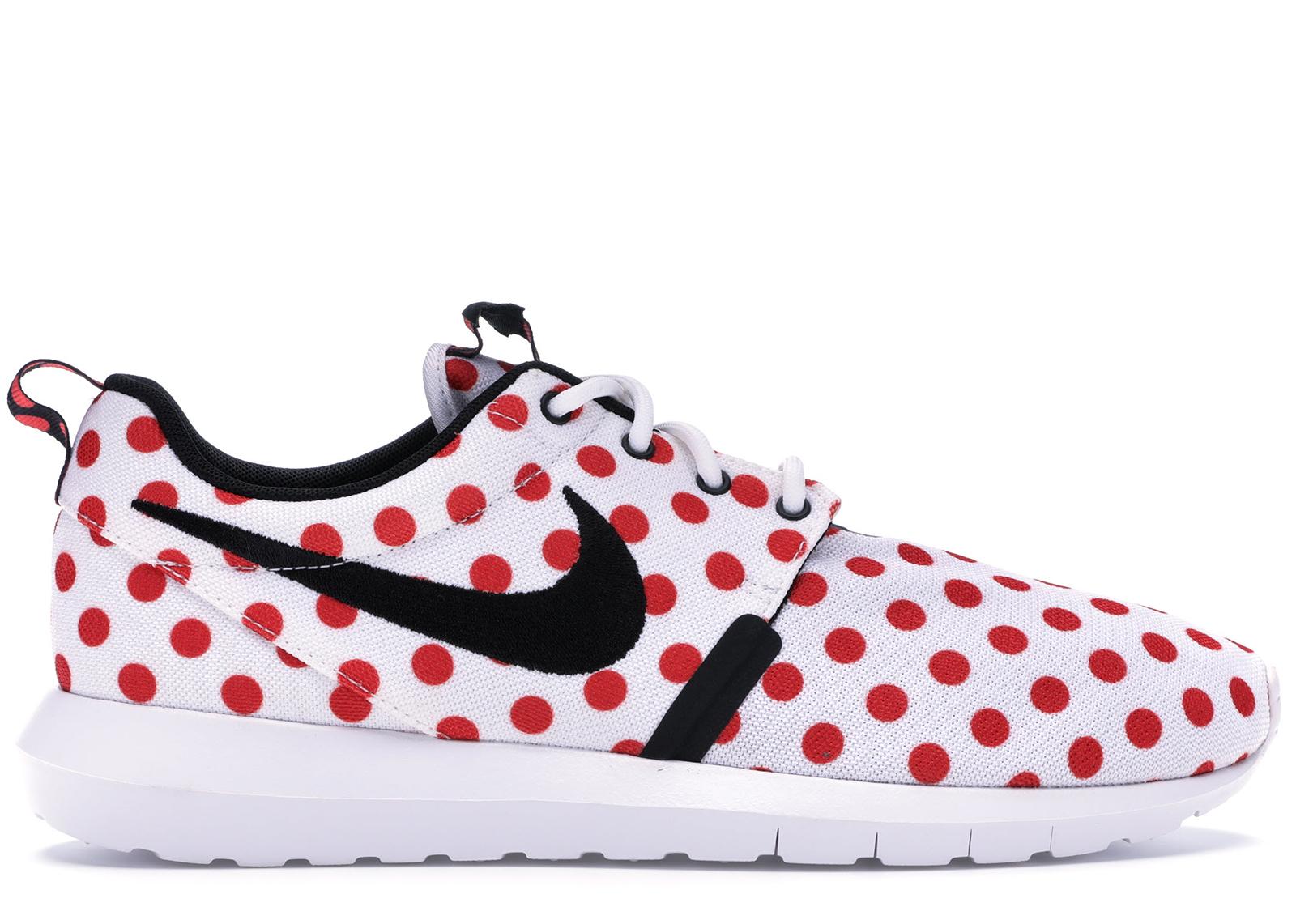 Nike Roshe Run Polka Dot Pack White