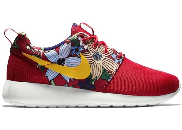 super popular edf13 8e73f Nike Roshe Run Red Floral Aloha (GS) - 599432-674