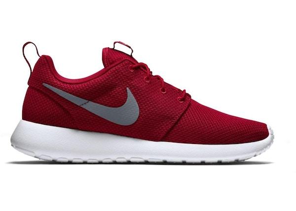 a7b9076b2d24f Nike Roshe Run Sport Red Cool Grey - 511881-601