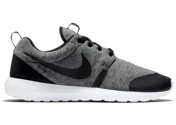 new styles 33cde 538ad Nike Roshe Run Tech Fleece Cool Grey - 749658-002