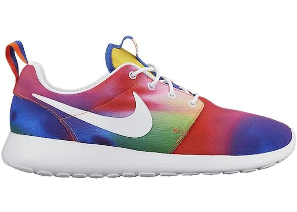 978178edbd28 Nike Roshe Run Tie Dye Rainbow - 655206-518