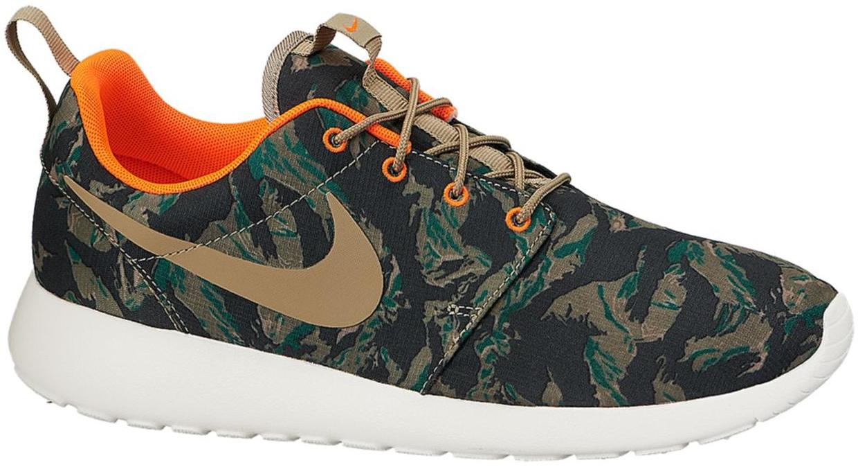 Nike Roshe Run Tiger Camo Green