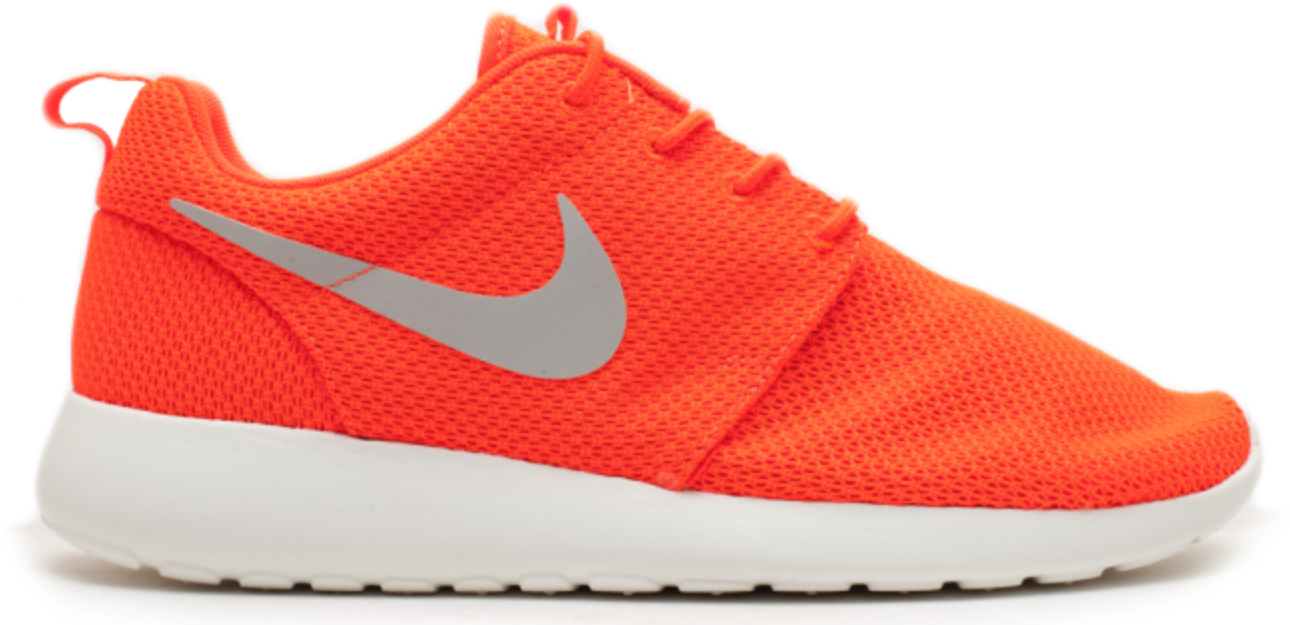 Nike Roshe Run Total Crimson Gamma Grey