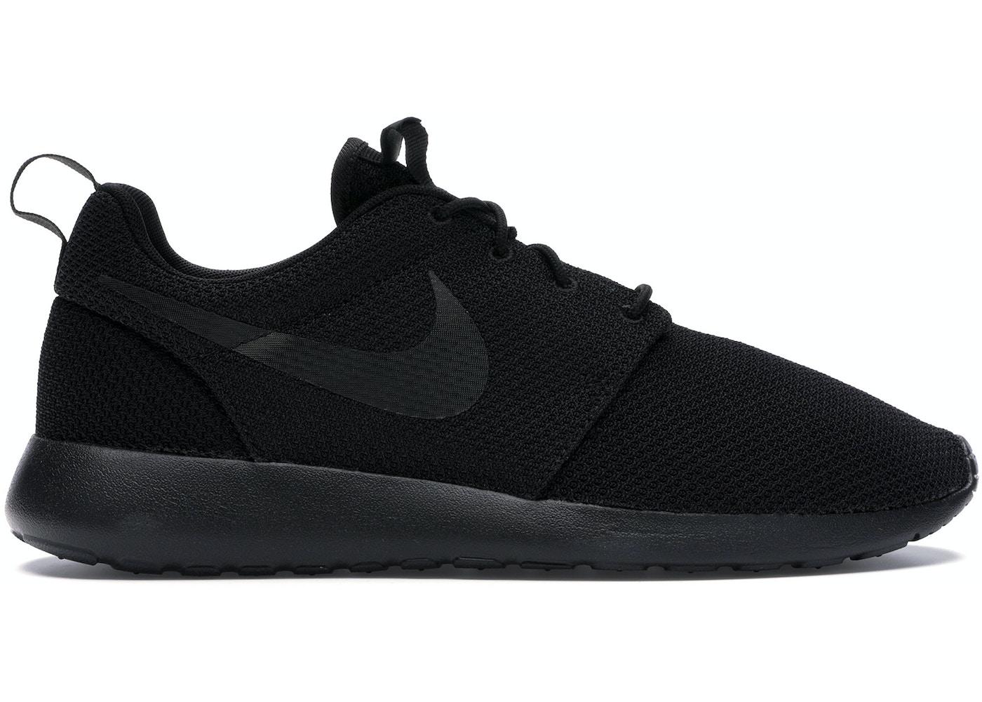 Oceano Enumerar objetivo  Nike Roshe Run Triple Black - 511881-026