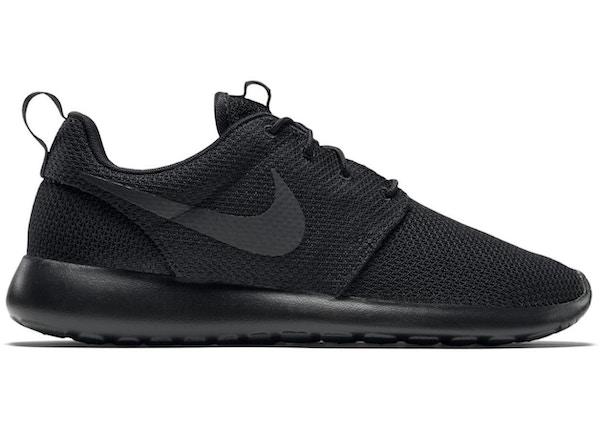 buy popular 5c68c 9ac2e Nike Roshe Run Triple Black - 511881-026