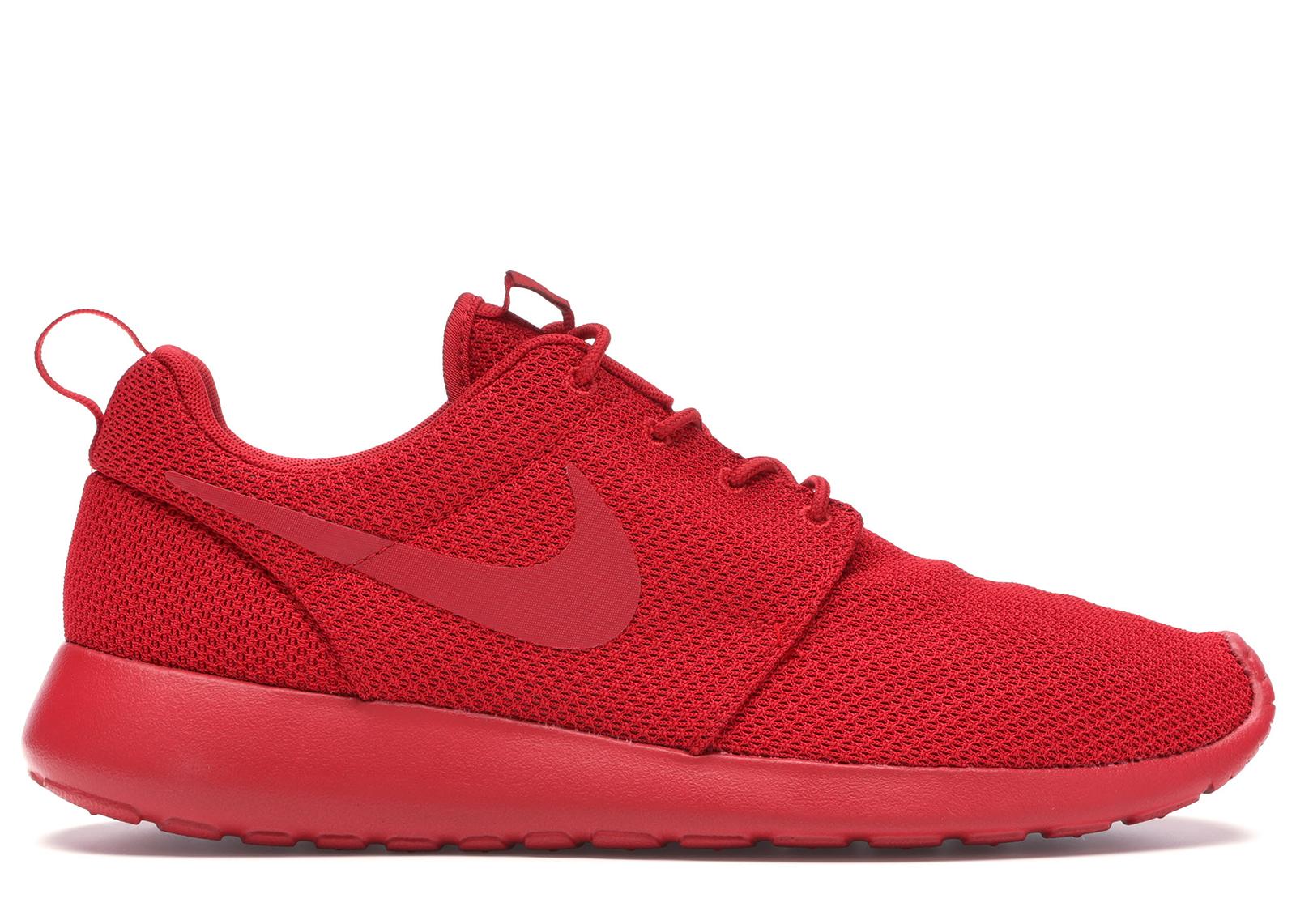 Nike Roshe Run Triple Red - 511881-666