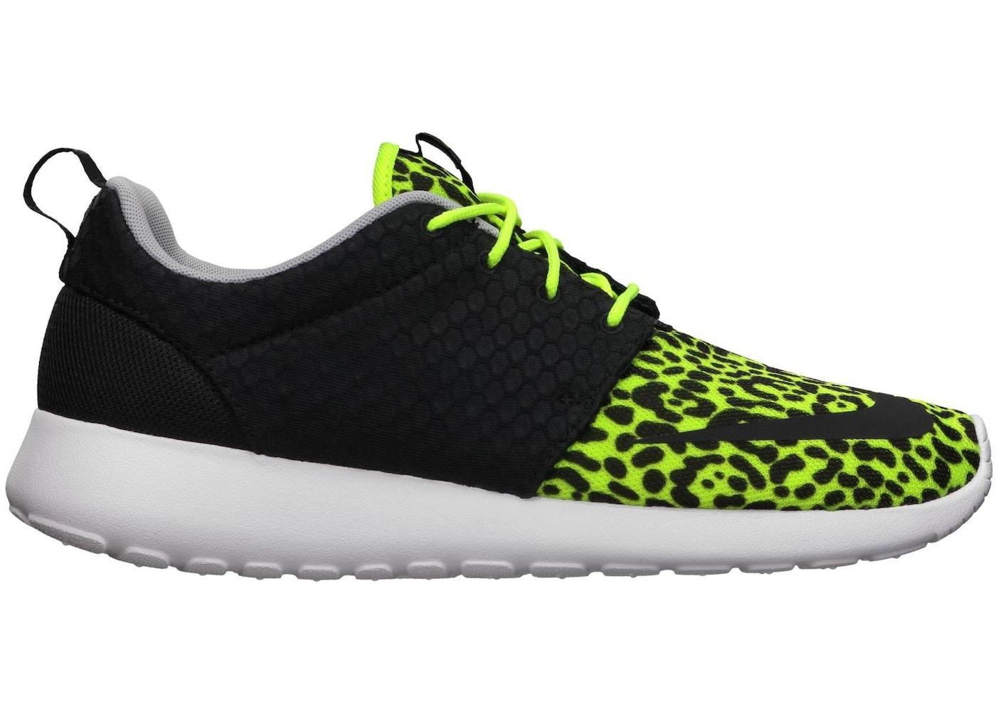 4daf506b30dd ... sale Nike Roshe Run Volt Leopard ...